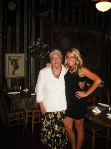 Mamaw and Leah--2009